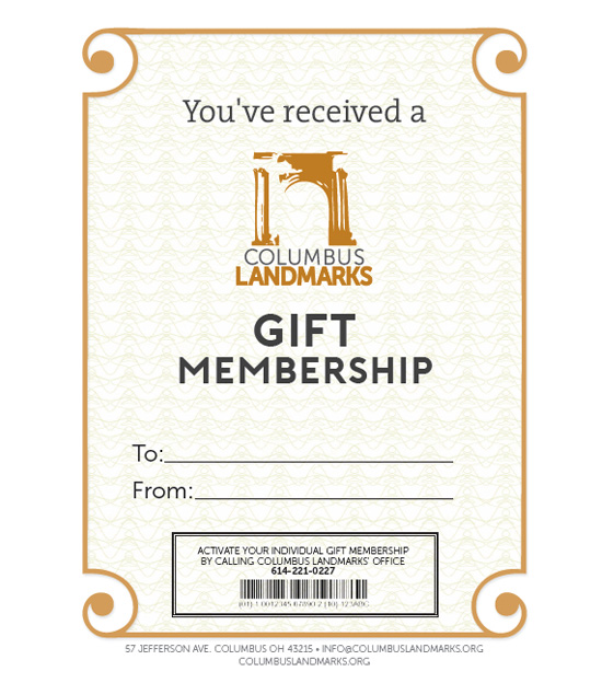 15e897c816c Individual Gift Membership –  35. GIVE THE GIFT OF PRESERVATION!